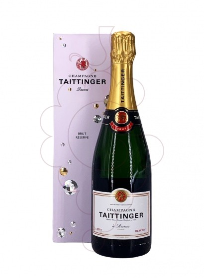 Photo Taittinger Brut Reserve sparkling wine