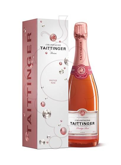 Photo Taittinger Prestige Rose sparkling wine