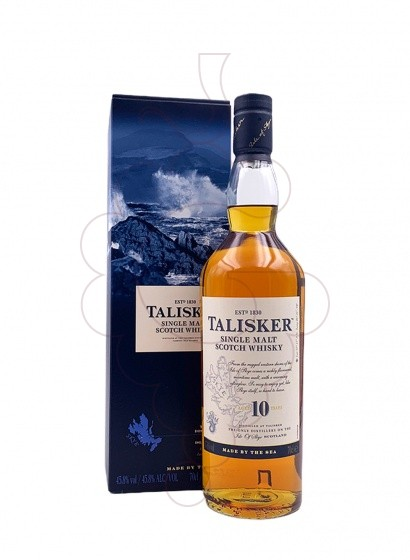 Photo Whisky Talisker 10 Years