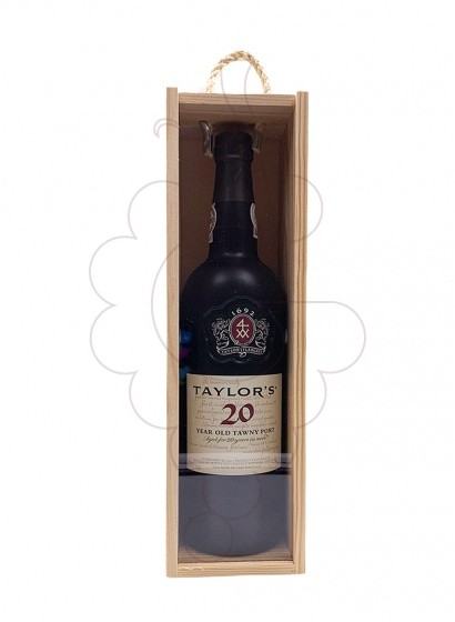 Photo Taylor's 20 Years fortified wine