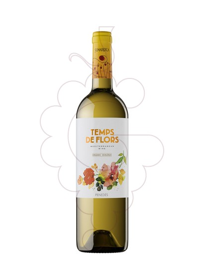 Photo Temps de Flors Blanc white wine
