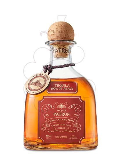 Photo Tequila Patrón Sherry Cask Añejo