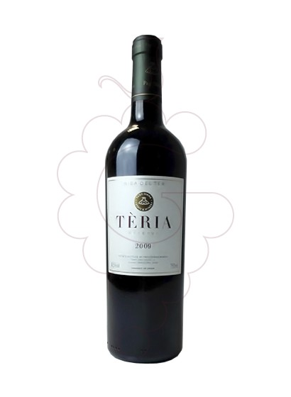 Photo Teria Negre red wine