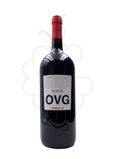 Photo Terrai OVG Magnum red wine