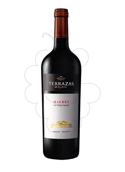 Photo Terrazas de los Andes Malbec red wine