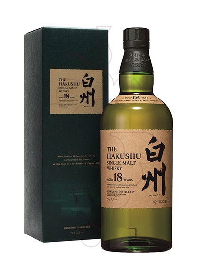 Photo Whisky The Hakushu 18 Years
