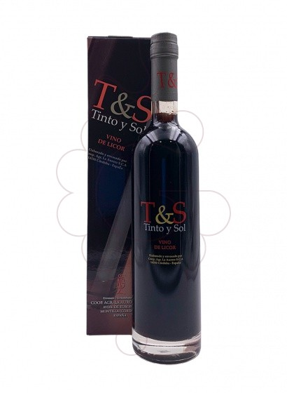Photo Tinto y Sol fortified wine