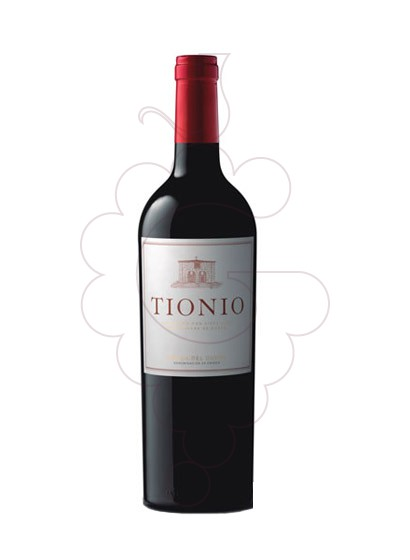 Photo Tionio Crianza red wine