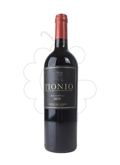 Photo Tionio Reserva red wine