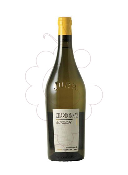 Photo Tissot Arbois Patchwork Chardonnay white wine