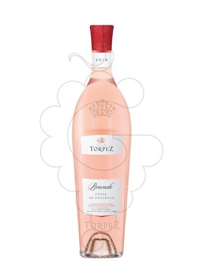 Photo Rosé Torpez Bravade rosé wine