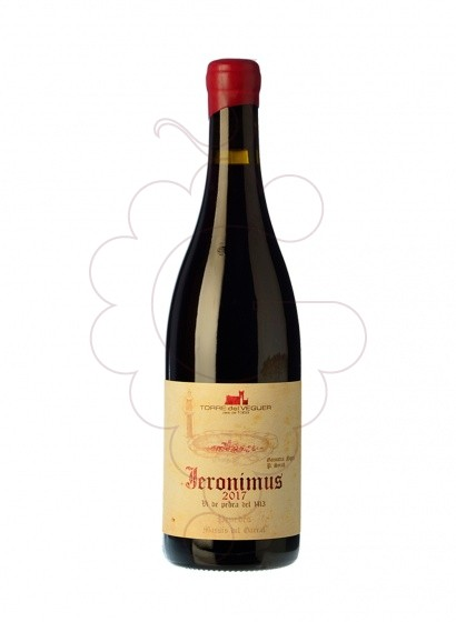Photo Torre del Veguer Jeronimus red wine