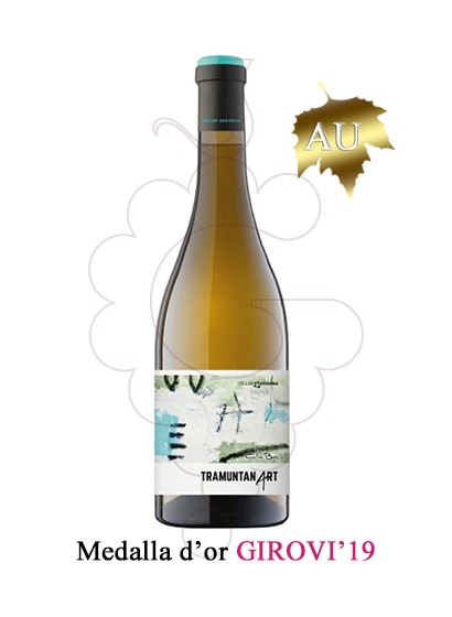 Photo White Tramuntanart white wine