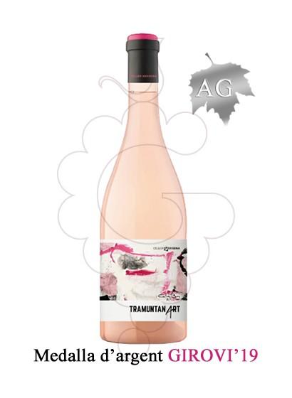 Photo Rosé Tramuntanart rosé wine