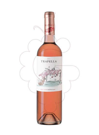 Photo Trapella Syrah Rosat  rosé wine