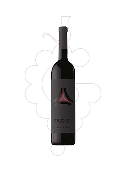 Photo Triennia Portia red wine