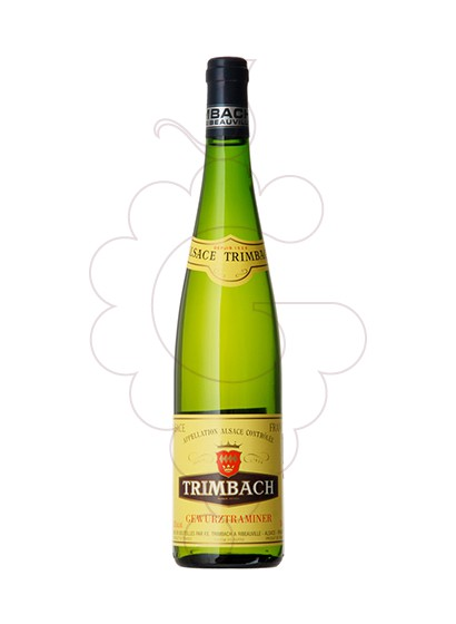 Photo Trimbach Gewurztraminer white wine