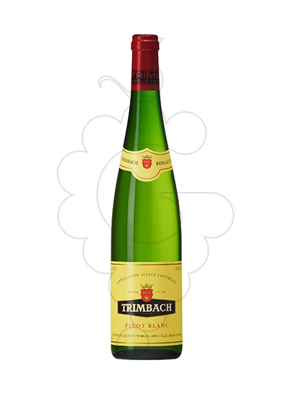 Photo Trimbach Pinot Blanc white wine