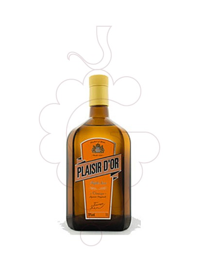 Photo Liqueur Triple Sec Plaisir d'Or