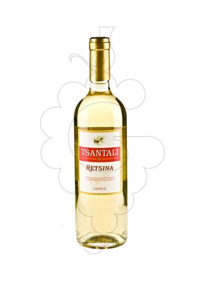 Photo Tsantali Retsina Blanc white wine