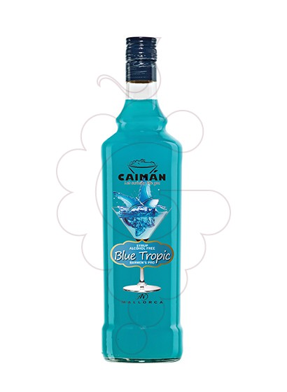 Photo Syrups Caimán syrup Blue Tropic (alcohol free)