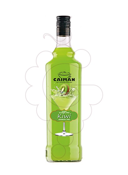Photo Syrups Caimán syrup Kiwi (alcohol free)