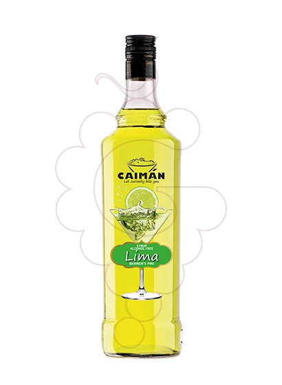 Photo Syrups Caimán syrup Lima (alcohol free)