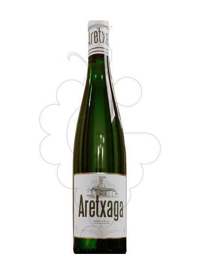 Photo Txakoli Aretxaga white wine