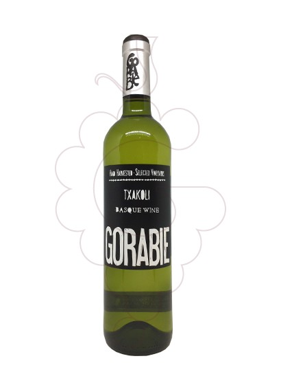 Photo Txakoli Gorabie  white wine