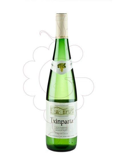 Photo Txinparta Blanco white wine