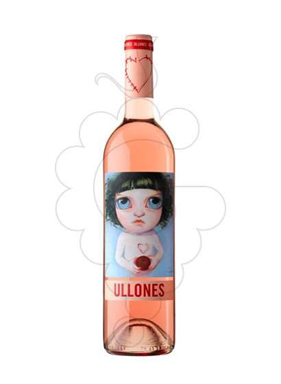 Photo Ullones Rosat rosé wine