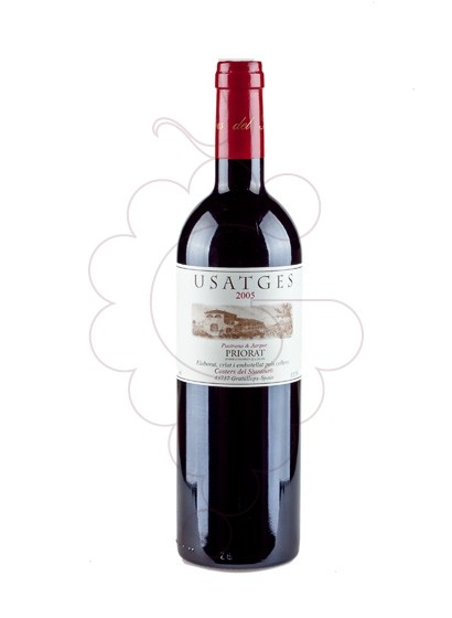 Photo Usatges Negre red wine