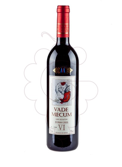 Photo Vade Mecum Vi d'Autor Syrah red wine