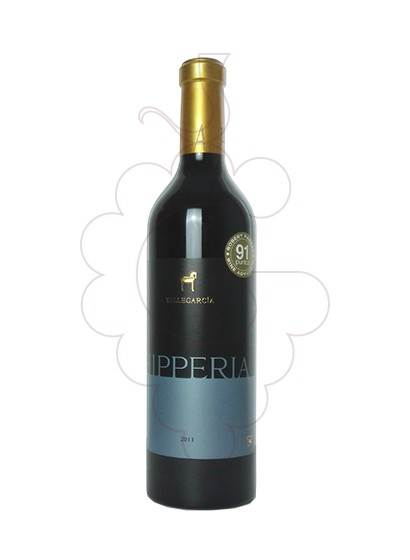 Photo Vallegarcia Hipperia red wine