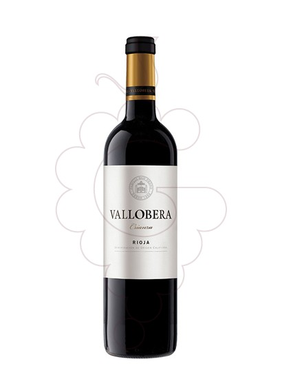 Photo Vallobera Crianza red wine
