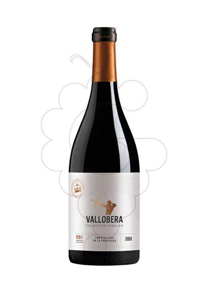 Photo Vallobera Reserva Colección Familiar red wine