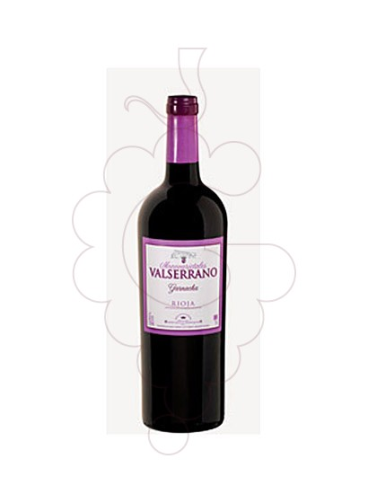 Photo Valserrano Garnacha red wine
