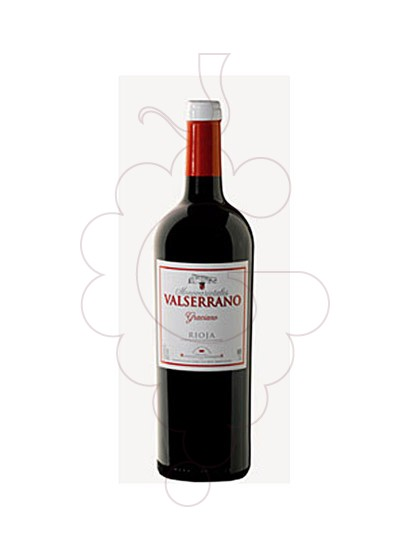Photo Valserrano Graciano red wine