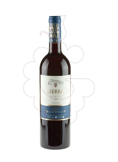 Photo Valserrano Gran Reserva red wine