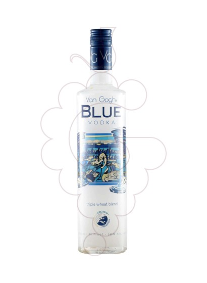 Photo Vodka Van Gogh Blue Vodka