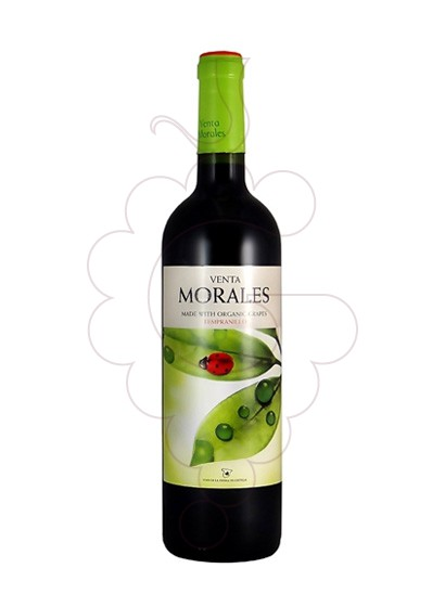 Photo Venta Morales Organic Tempranillo red wine
