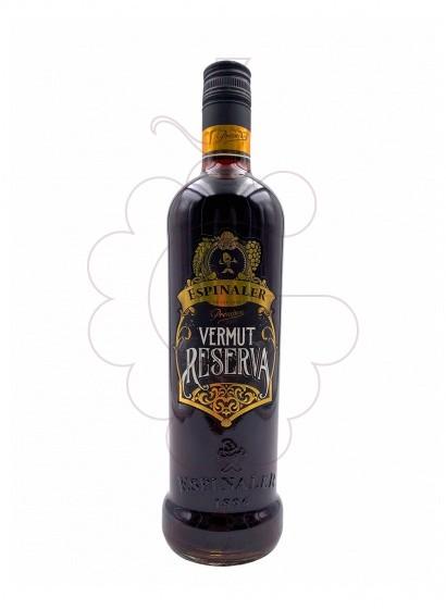 Photo Aperitif wine Vermut Espinaler Negre Reserva