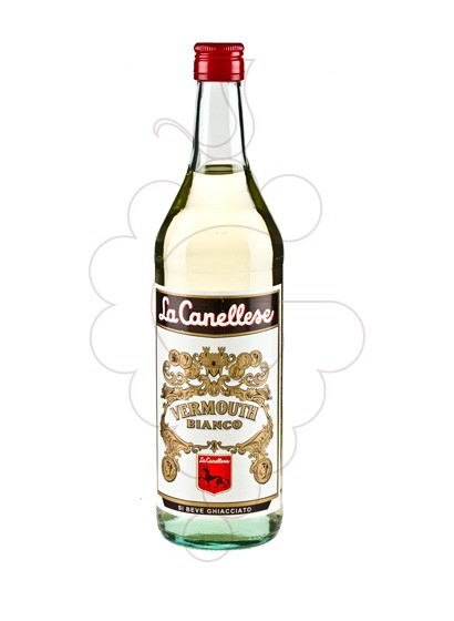 Photo Aperitif wine Vermouth La Canellese Bianco
