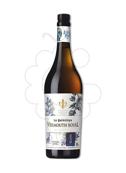Photo Aperitif wine Vermouth La Quintinye Blanc