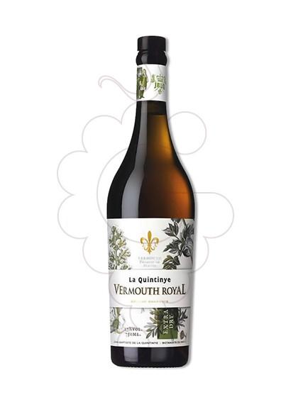 Photo Aperitif wine Vermouth La Quintinye Dry