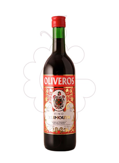 Photo Aperitif wine Vermouth Oliveros Rojo