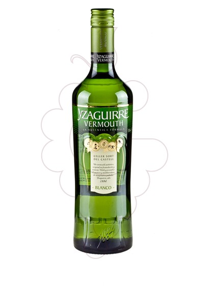 Photo Aperitif wine Vermouth Yzaguirre blanc jove