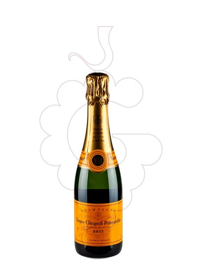 Photo Veuve Clicquot Brut Carte Jeune (mini) sparkling wine