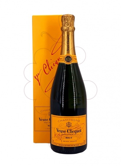Photo Veuve Clicquot Brut Carte Jeune (Pack) sparkling wine