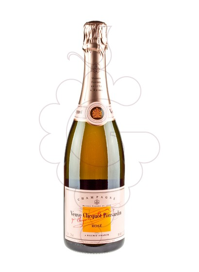 Photo Veuve Clicquot Rose sparkling wine